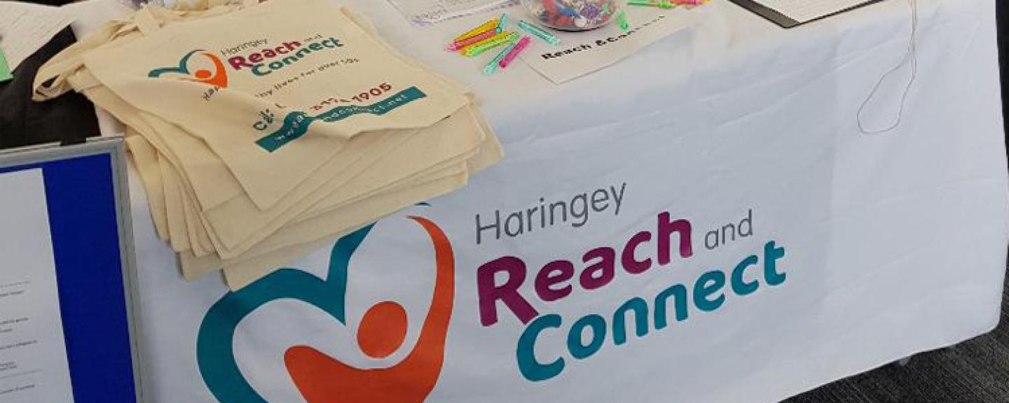 Reach and Connect stall