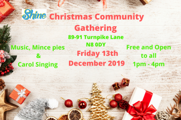 Shine Christmas flyer